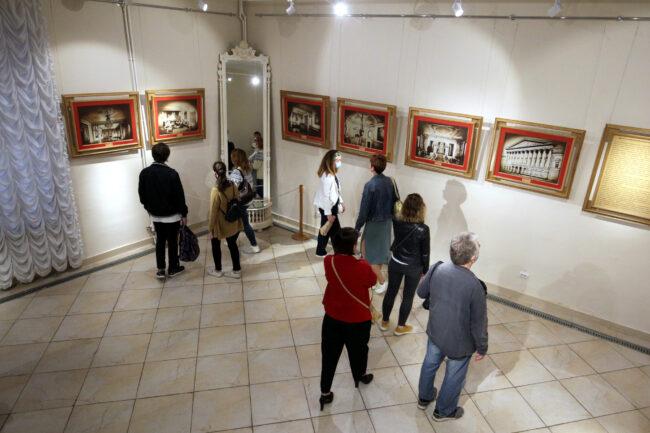 ночь музеев, особняк Румянцева