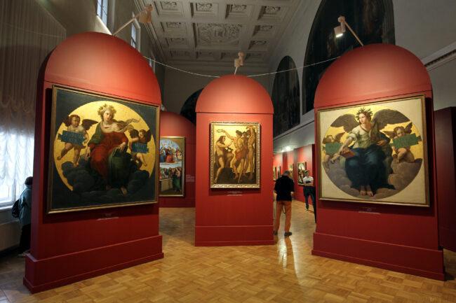 ночь музеев, музей академии художеств