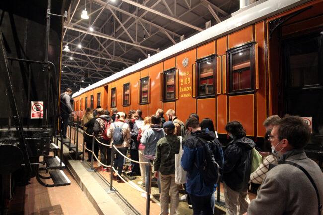 ночь музеев, музей железных дорог России, железнодорожный транспорт