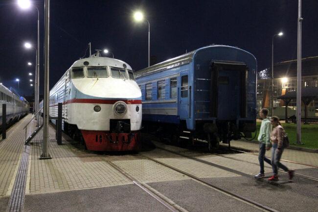 ночь музеев, музей железных дорог России, Эр-200, железнодорожный транспорт