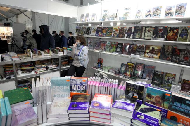 книжный салон, чтение, книги, литература