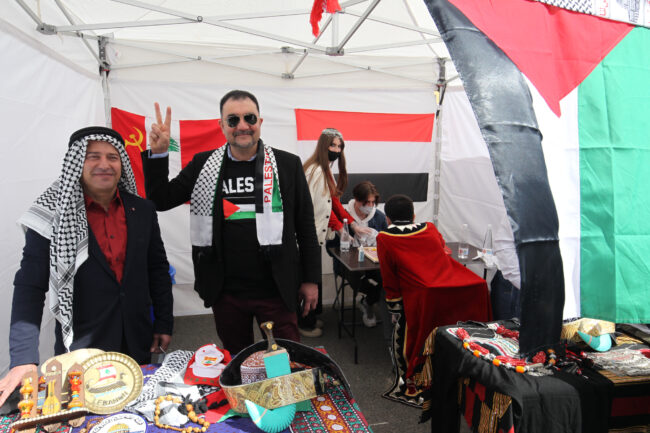 бал национальностей, палестинцы, ливанцы