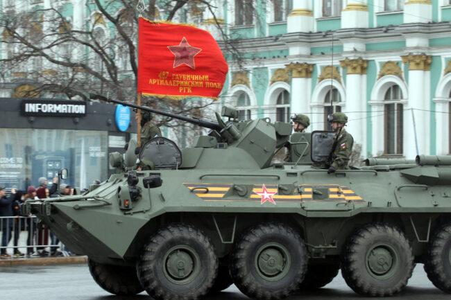 репетиция парада Победы, солдаты, военные, армия, БТР