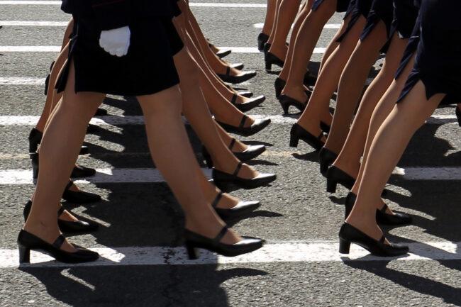парад победы, день победы, 9 мая, армия, военнослужащие женщины