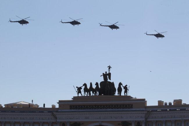 парад победы, день победы, 9 мая, армия, авиация, вертолёты