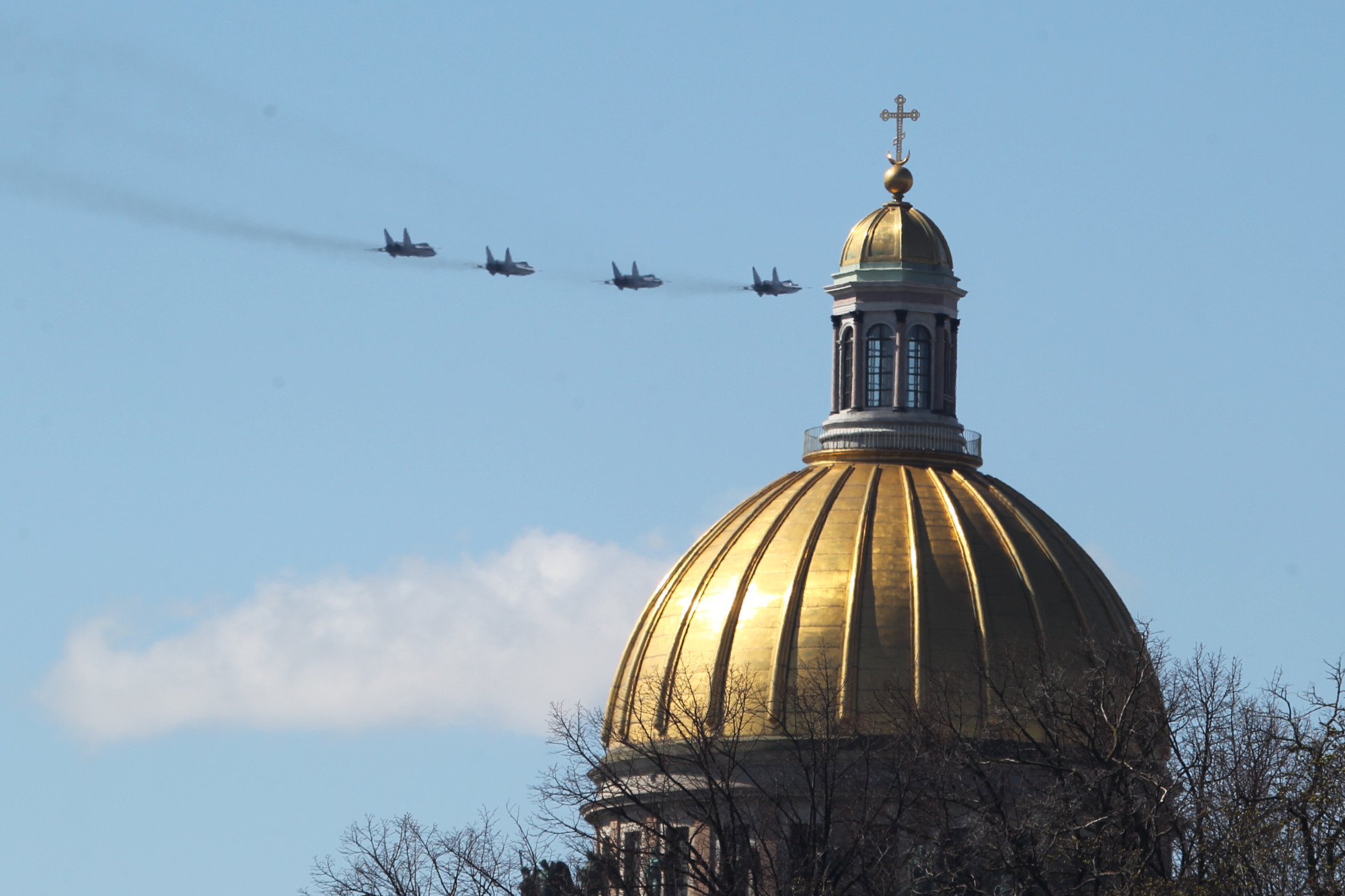 парад победы, день победы, 9 мая, армия, авиация, самолёты миг-31