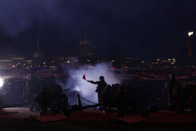 день победы, артиллерийский салют