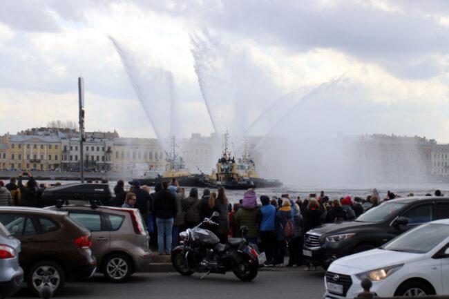 фестиваль ледоколов, буксиры, Нева