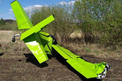 легкомоторный самолет авария