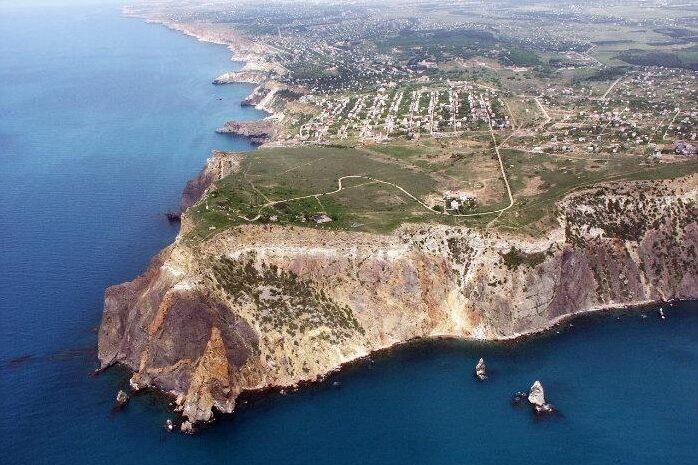 мыс Фиолент, Крым, Чёрное море