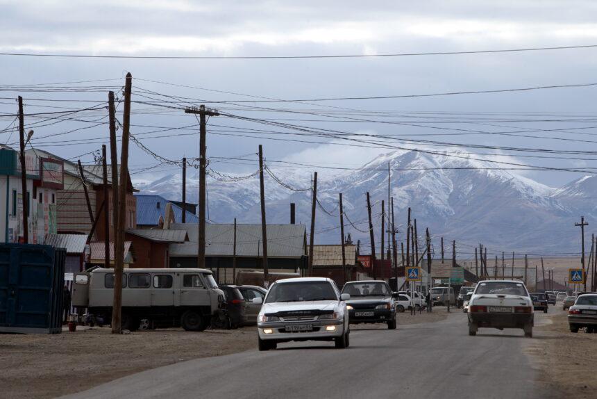 Горный Алтай, Кош-Агач, посёлок, регион, дорога, автомобиль