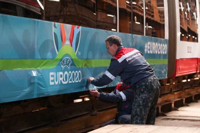 трамваи Евро-2020
