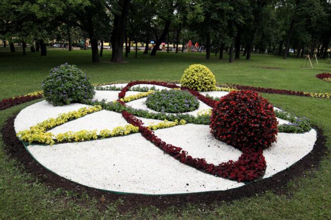 фестиваль цветов, цветник, благоустройство, Александровский сад