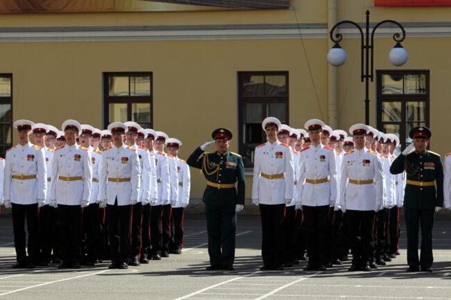 выпуск в суворовском военном училище, курсанты