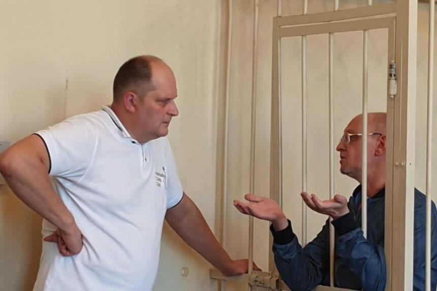 Максим Резник, Октябрьский районный суд