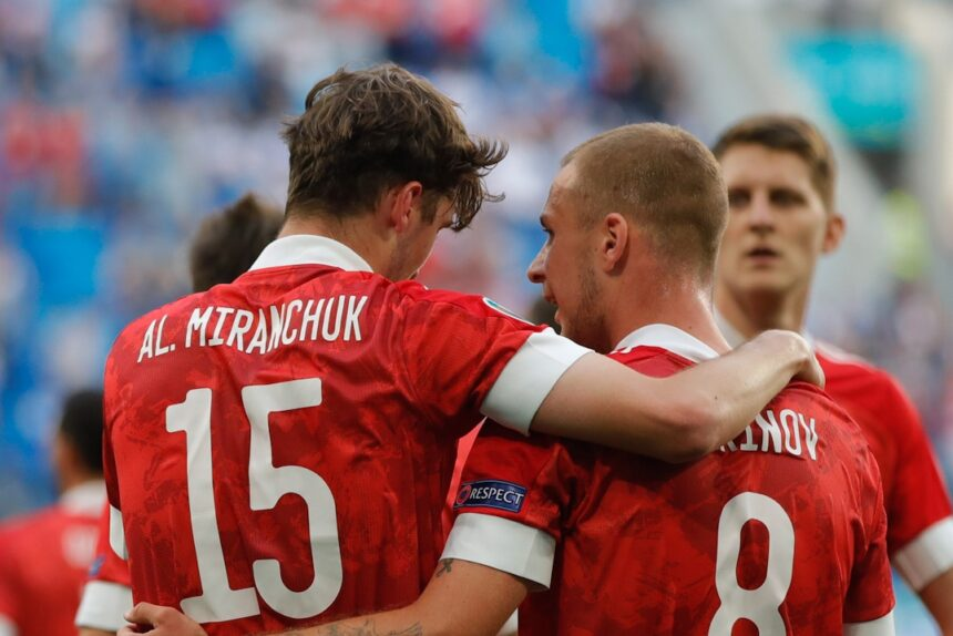 матч Россия Финляндия на Евро-2020