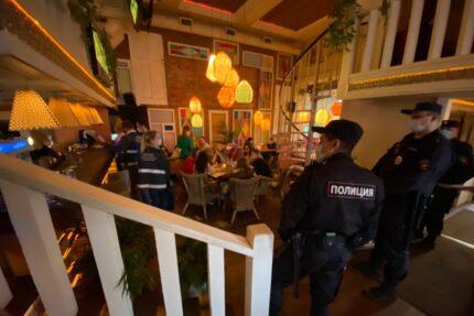 коронавирус рейд по ресторанам
