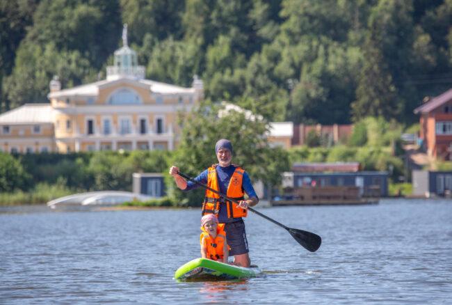 плавание, водные виды спорта, заплыв в Хепоярви, SUP-серфинг