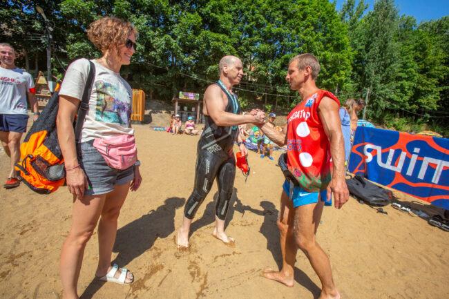 плавание, водные виды спорта, заплыв в Хепоярви, пловцы, спортсмены