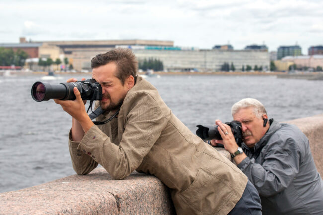 Генеральная репетиция, главный военно-морской парад, день ВМФ, фотографы, фотожурналисты, Сергей Николаев, Игорь Осочников