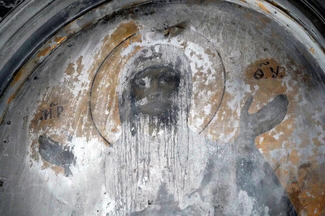реставрация церкви святой великомученицы Екатерины, Смольный собор, живопись