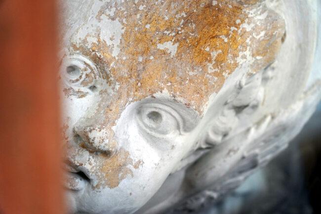 реставрация церкви святой великомученицы Екатерины, Смольный собор, лепнина