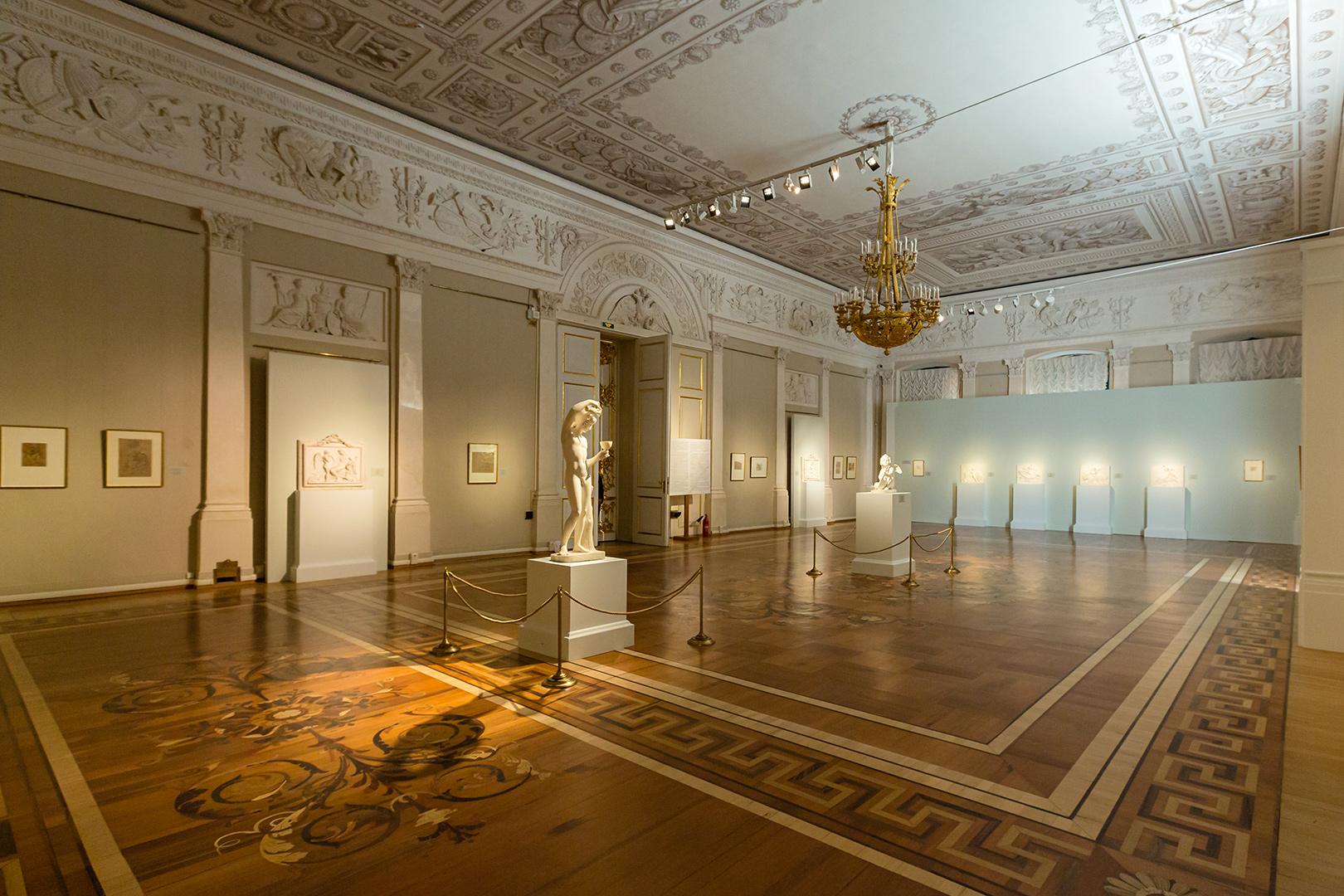Выставка Торвальдсена, Эрмитаж