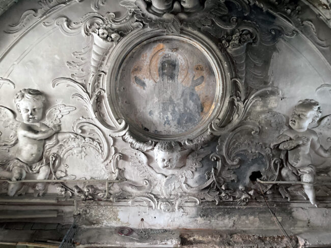 реставрация церкви святой великомученицы Екатерины, Смольный собор