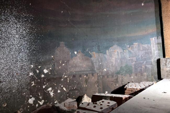 реставрация церкви святой великомученицы Екатерины, Смольный собор, картина Ночной Иерусалим