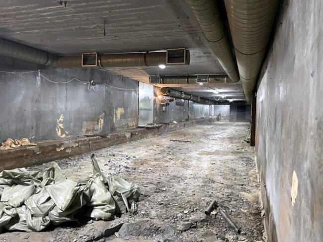 реконструкция бомбоубежища под плавательный бассейн