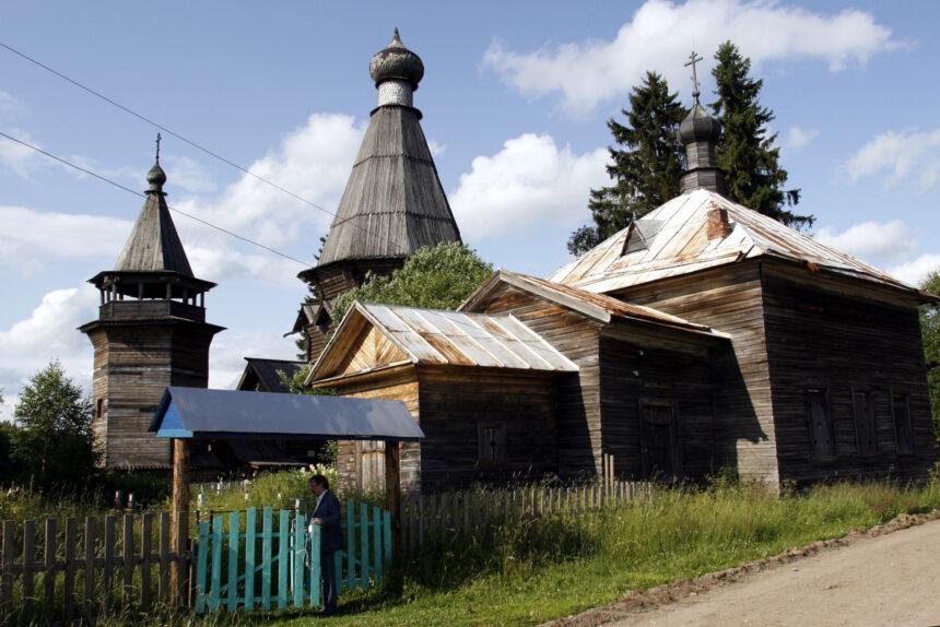 деревянная церковь, Согиницы, Подпорожский район, деревянное зодчество