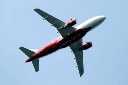 самолёт, авиалайнер, Airbus A319, авиакомпания Россия, перелёты, авиасообщение, воздушный транспорт