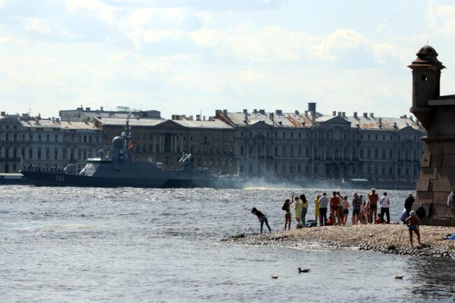 день ВМФ, репетиция парада, главный военно-морской парад, корабли, Петропавловская крепость