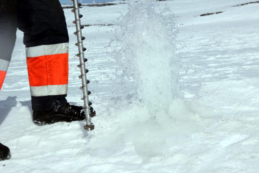 вода в Арктике, мерзлотоведение, ААНИИ, лёд