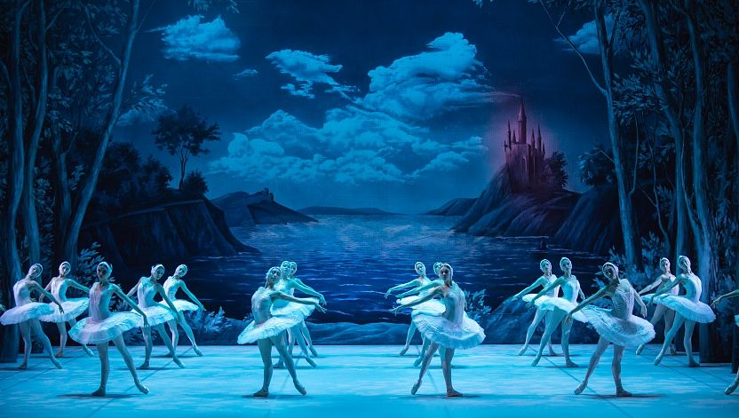 балет Лебединое озеро, Александринский театр