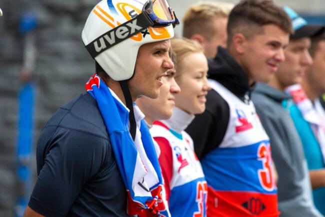 лыжники, прыжки с трамплина, лыжный спорт, кубок Владимира Белоусова, спортсмены