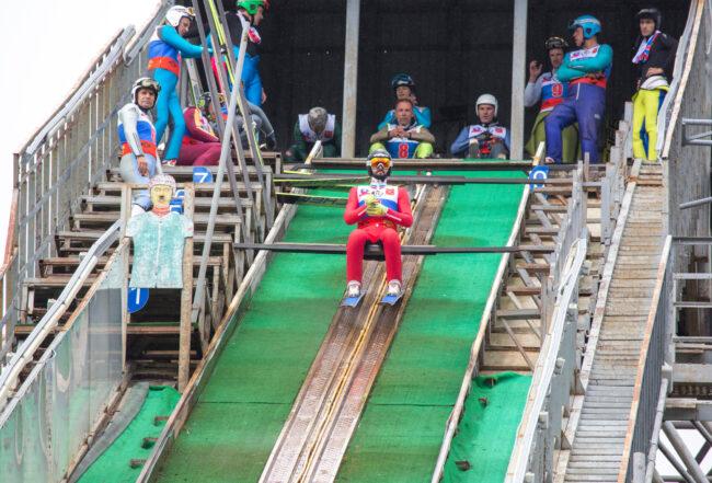 лыжники, прыжки с трамплина, лыжный спорт, кубок Владимира Белоусова