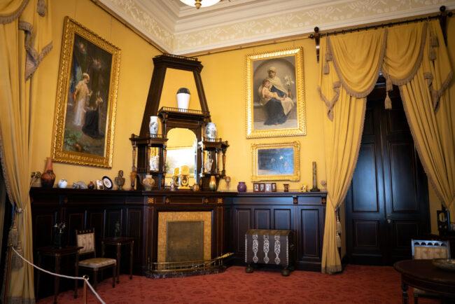Александровский дворец, интерьеры, реставрация, Царское Село