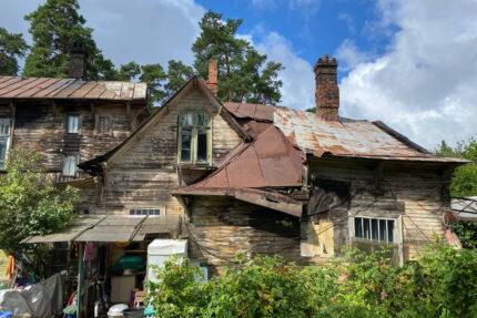 дача Валентины Кривдиной, деревянный дом, памятник архитектуры, деревянные здания