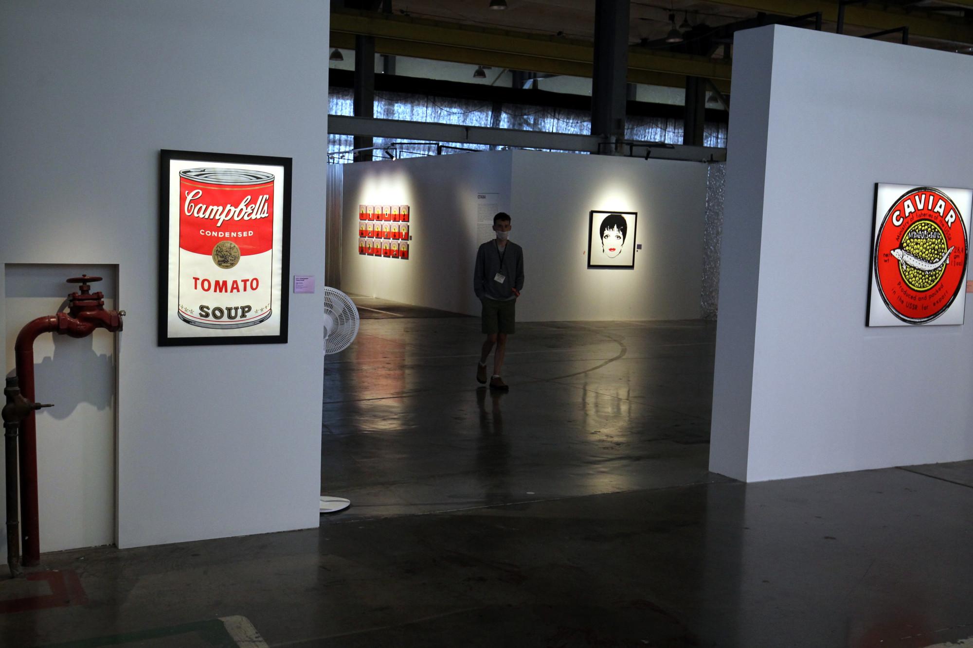 выставка Энди Уорхол и русское искусство, Севкабель порт
