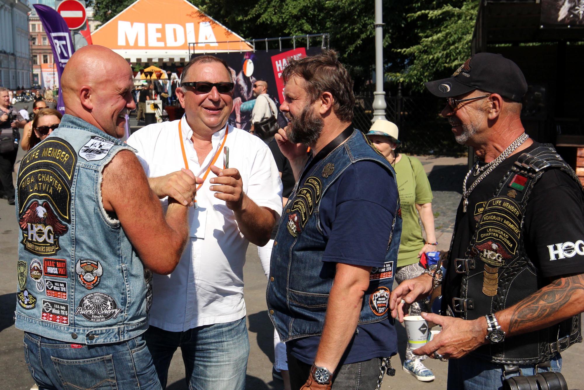Игорь Щербаков, мотофестиваль Harley Days