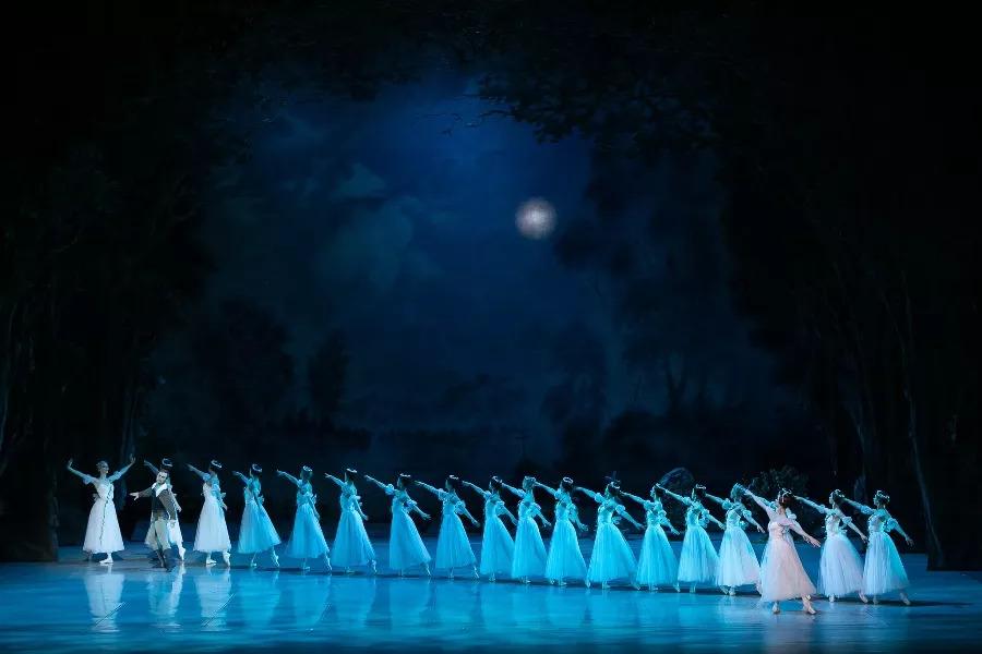 балет Жизель, приморская сцена Мариинского театра