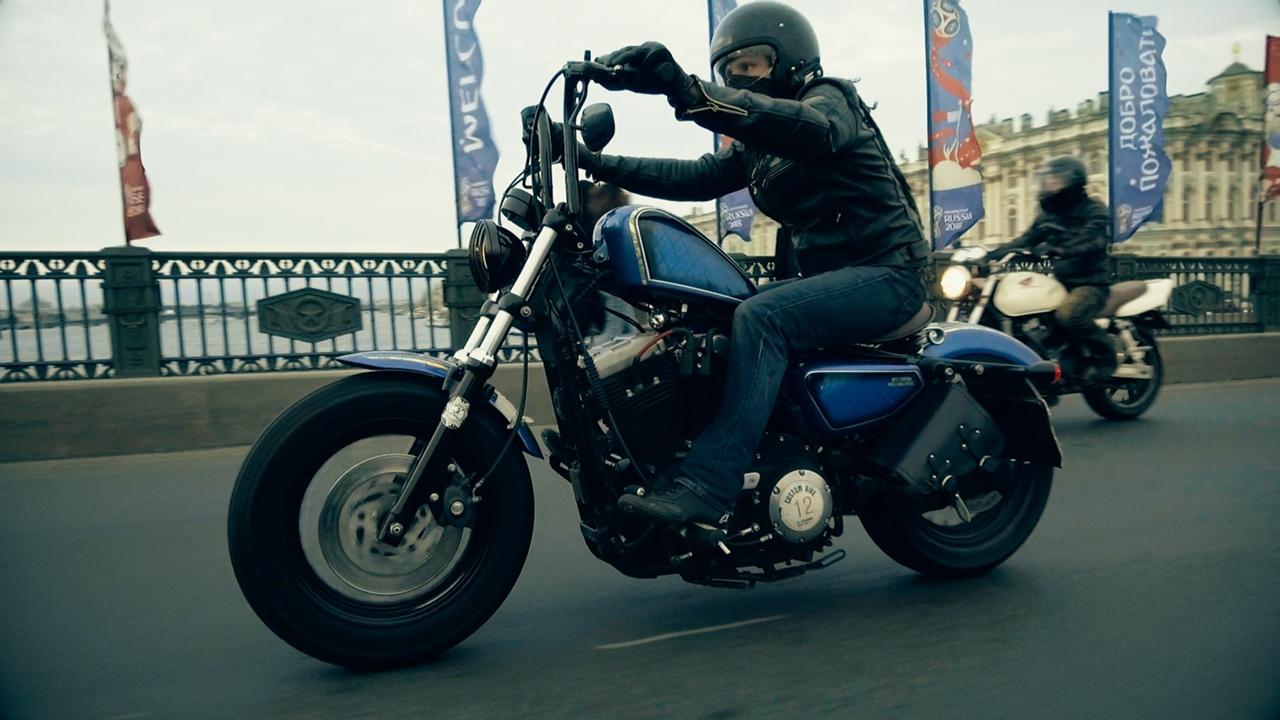 Алексей Ветров, Мотобратан, мотоциклист