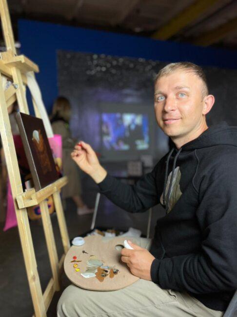 выставка Энди Уорхол и русское искусство, Севкабель порт, художник