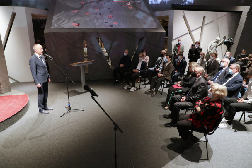 открытие института изучения обороны и блокады Ленинграда