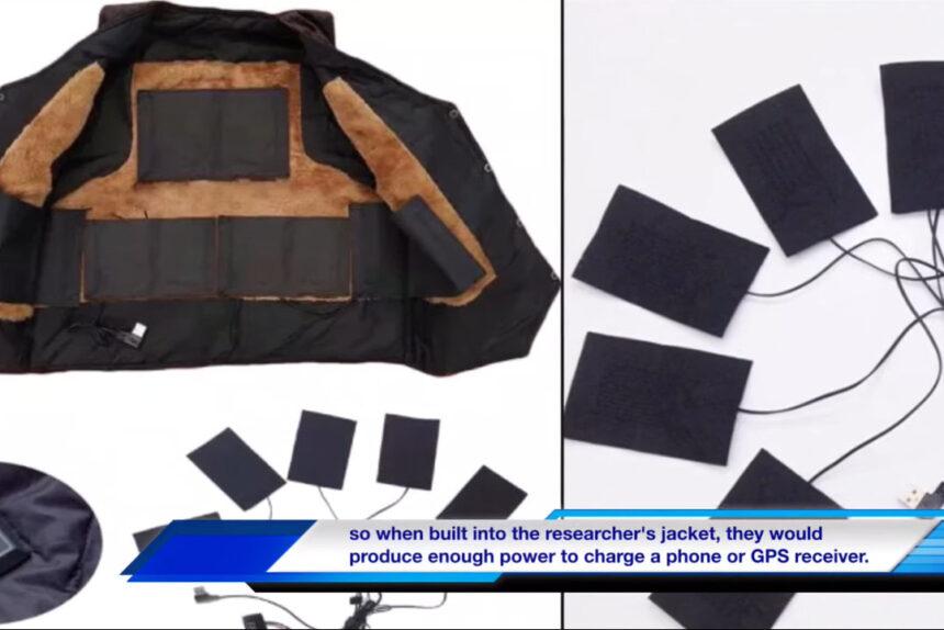 Куртка для зарядки электронных устройств