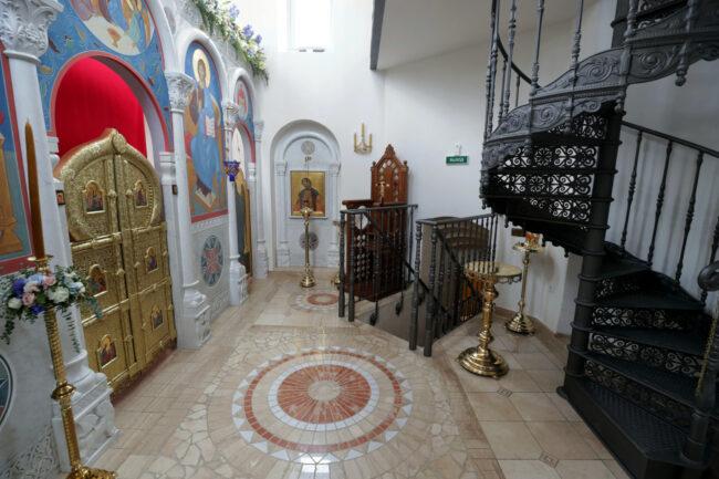 Исидоровская колокольня Воскресенского Новодевичьего монастыря