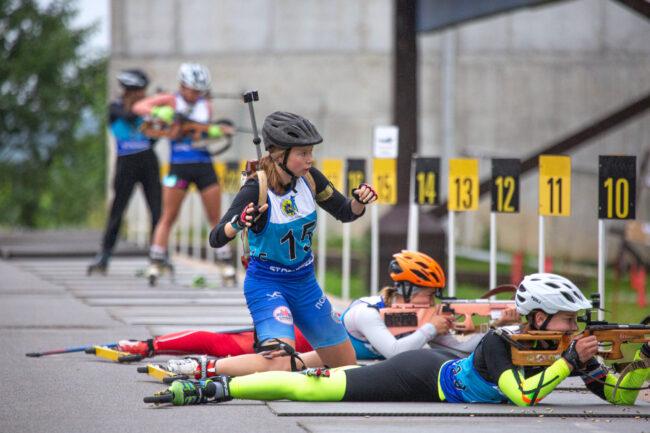 чемпионат и первенство по летнему биатлону