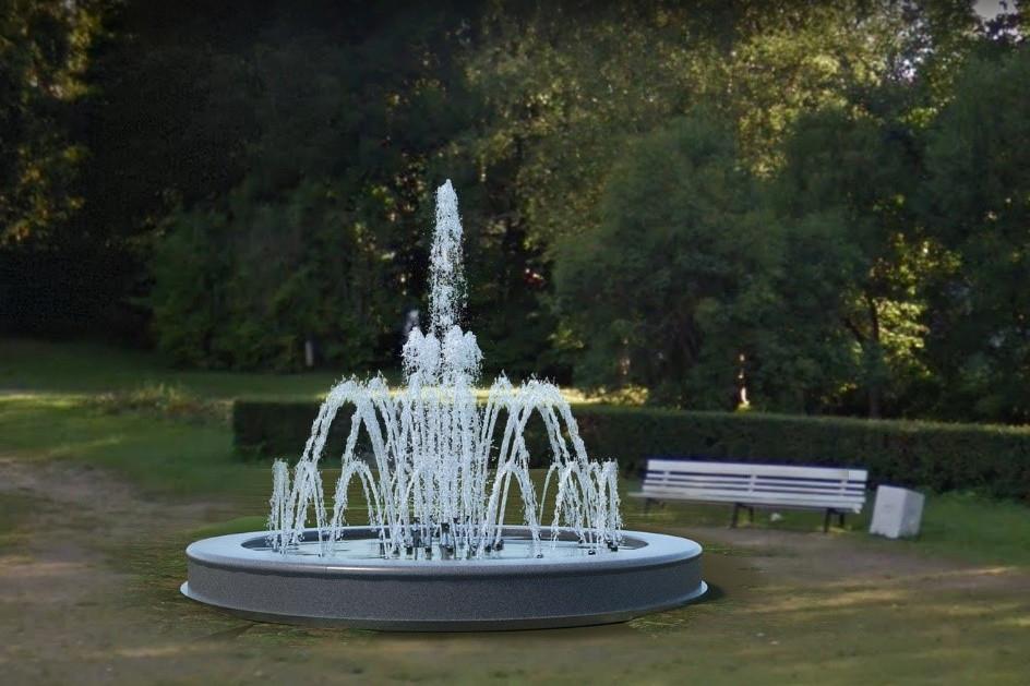 фонтан в Пошехонском сквере, Зеленогорск
