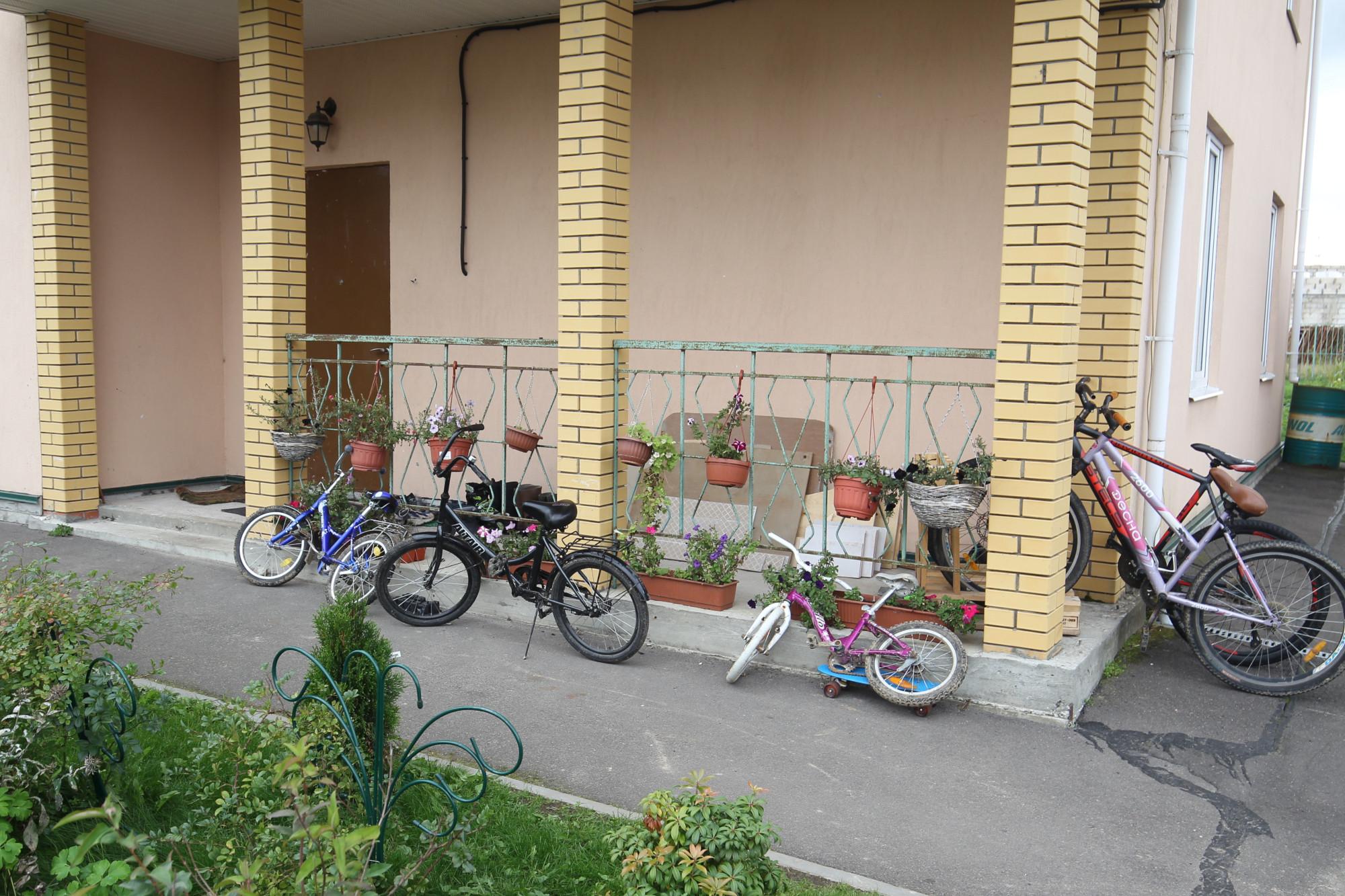 Ольгинская детская деревня, велосипеды